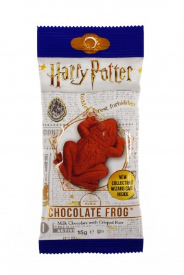 Harry Potter czekoladowa żaba Chocolate Frog + Karta